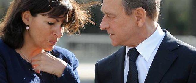Anne Hidalgo et Bertrand Delanoë