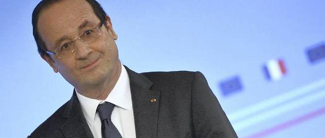 François Hollande gagne trois points, selon un sondage CSA.