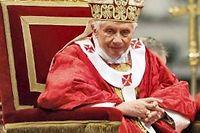 Le pape Benoît XVI. ©Galazka