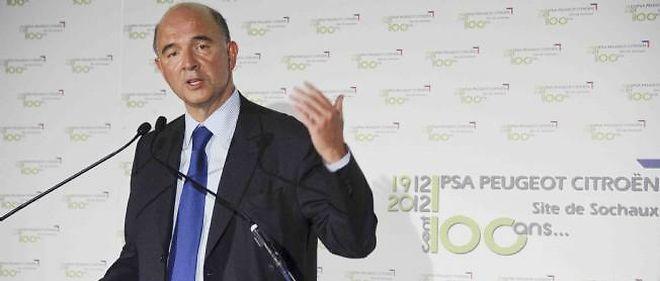 Pierre Moscovici répète que l'entrée de l'État au capital de PSA est exclue malgré les pertes abyssales de Peugeot Citroën.