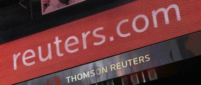 Thomson Reuters - image d'illustration.