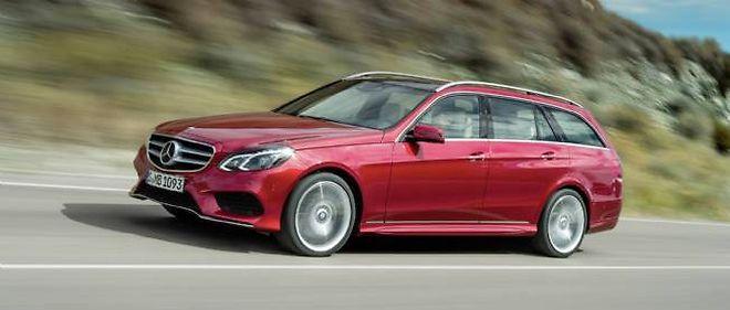 Pour relancer ce modèle, Mercedes a insisté sur les aspects technologiques de la nouvelle Classe E.