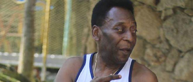 L'ancien joueur brésilien Pelé.