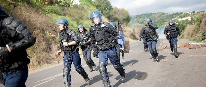 Des policiers du GIR à Mayotte (photo d'illustration).