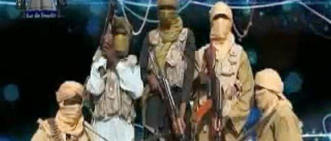 Vidéo de combattants du groupe islamiste nigérian Ansaru, datée de novembre 2012.
