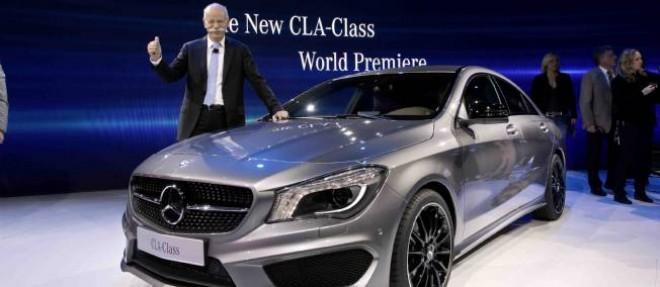 Dieter Zetsche, reconduit à la tête de Daimler a pour ambition de replacer Mercedes sur la première marche du podium du haut de gamme.
