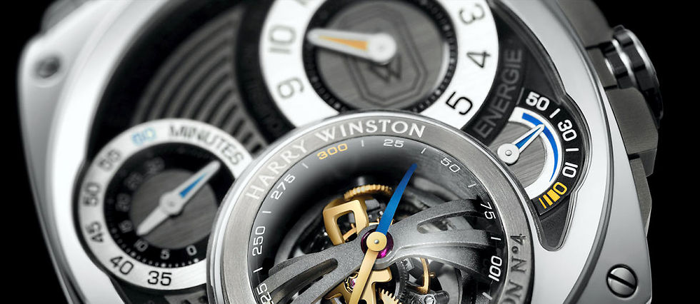 Harry Winston imagine le tourbillon du futur