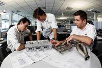 Les ingénieurs motoristes de Renault Sport F1 sont comblés : le nouveau réglement de la FIA pour la saison 2014 de Formule 1 les