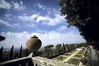 Vu de la propriété de Castel Gandolfo. ©Castel-Gandolfo