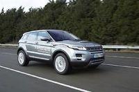 Le Range Rover Evoque étrenne la nouvelle boîte automatique 9 rapports du sous-traitant allemand spécialiste de la transmission ZF.