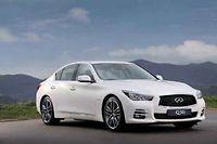 Avec un quatre cylindres diesel emprunte a Mercedes, Infiniti espere seduire en France avec son Q50.