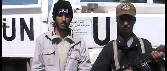 Les preneurs d'otages ont revendiqué leur action dans une vidéo diffusée sur You Tube.