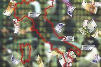 L'Italie doit résoudre son problème de crédit qui l'empêche de sortir de la spirale. ©INNAMORATI