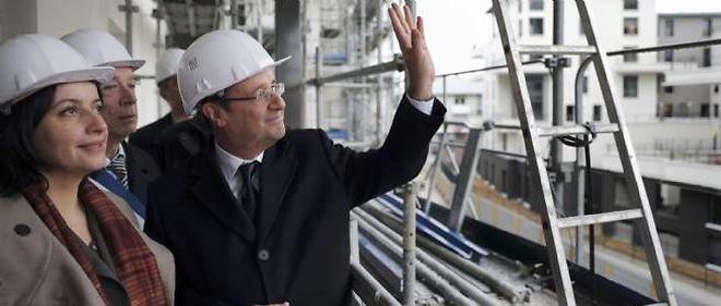 François Hollande et Cécile Duflot, le 1er février 2013.