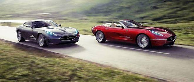 Si les Lyonheart K coupé et cabriolet s'inspirent très clairement des Type E des années 60, leurs carrosseries en fibre de carbone cachent une mécanique de 575 ch !