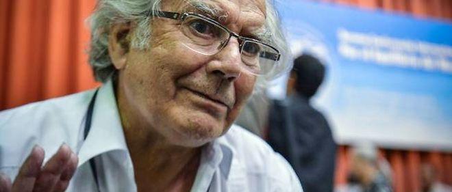 Le Prix Nobel de la paix Adolfo Pérez Esquivel.