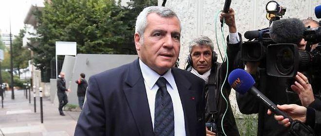 Me Thierry Herzog, avocat de Nicolas Sarkozy, le 2 octobre 2012.