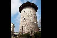 La tour où a été enfermée Jeanne d'Arc faisait partie du château construit en 1204. ©Leclercq/Andia