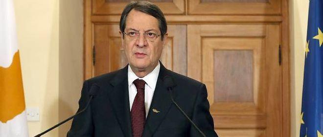 Le président Nicos Anastasiades.