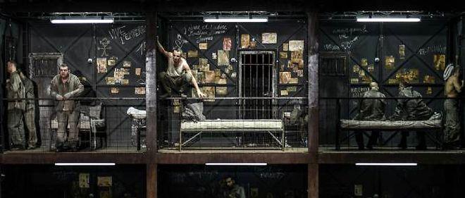"""Représentation du 22 mars 2013 de """"Claude"""", opéra inspiré d'un drame carcéral de Victor Hugo à l'opéra de Lyon."""