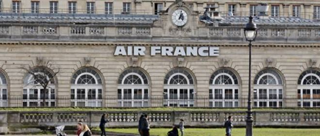 Le siege d'Air France a Paris.