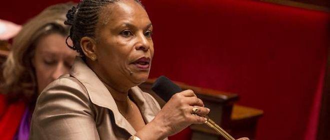 La ministre de la Justice Christiane Taubira a porté le projet de loi sur le mariage pour tous.