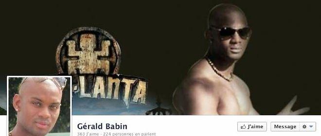 Capture d'écran de la page facebook ouverte à la suite de la mort de Gérald Babin