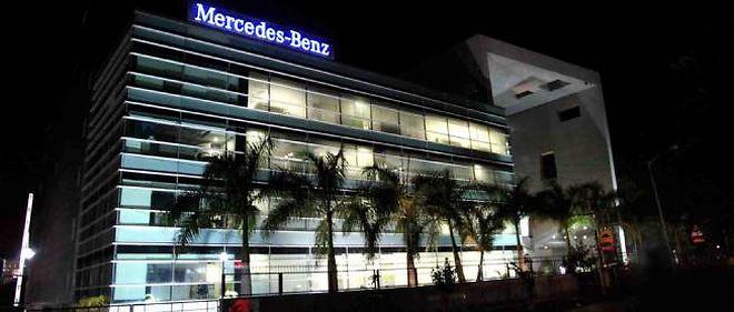 En Europe, Mercedes a écoulé 2,5 % de véhicules de plus qu'en mars 2012, mais 2,5 % de moins sur le marché allemand.