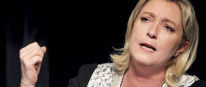 Marine Le Pen, presidente du Front national