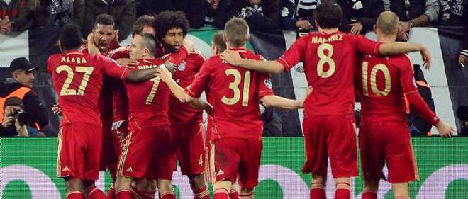 Le Bayern Munich accède aux demi-finales de la Ligue des champions.