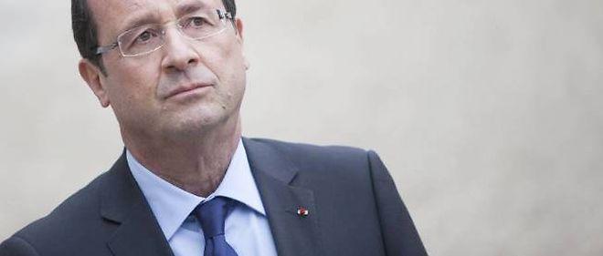 François Hollande devait répondre aux questions des journalistes à propos de son plan de moralisation de la vie politique.