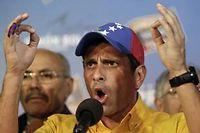 Henrique Capriles, après l'annonce de sa défaite. ©Fernando LLano