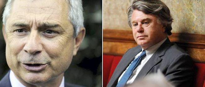 Claude Bartolone et Gilbert Collard ont immédiatement réagi après la diffusion de l'interview de Jérôme Cahuzac.