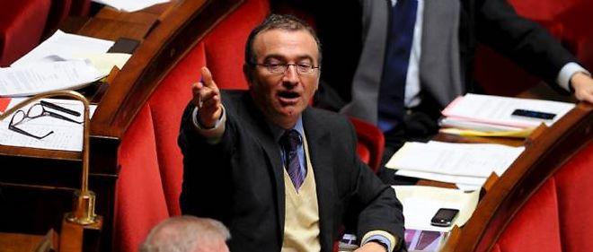 Hervé Mariton, l'un des principaux orateurs de l'UMP sur le projet de loi.