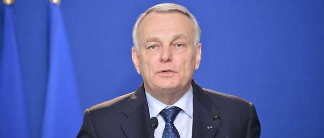 Le Premier ministre, Jean-Marc Ayrault.