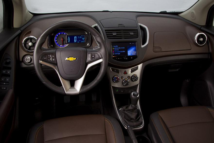 Chevrolet Trax planche de bord