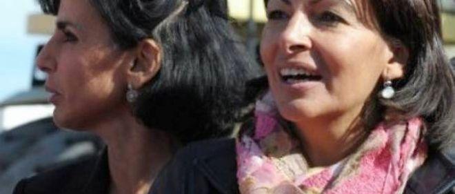 Rachida Dati et Anne Hidalgo.