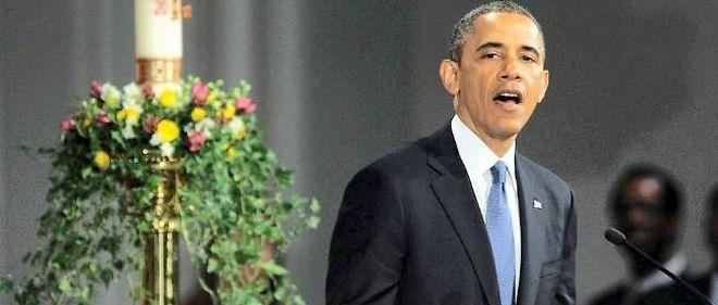 Barack Obama à Boston, le 18 avril 2013.