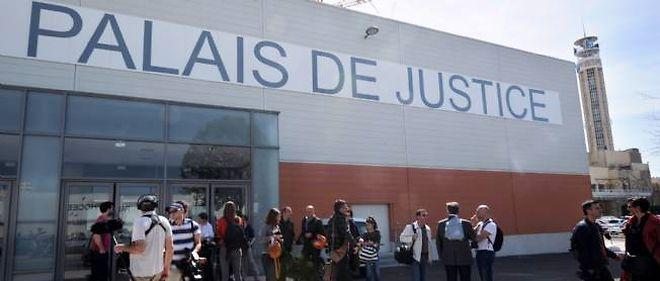 Le palais de justice de Marseille, où s'est ouvert mercredi le procès des prothèses mammaires PIP.