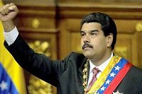 Nicolás Maduro succède au pouvoir à Hugo Chávez, décédé le 5 mars des suites d'un cancer après 14 ans à la tête de ce riche État pétrolier. © Juan Barreto / AFP