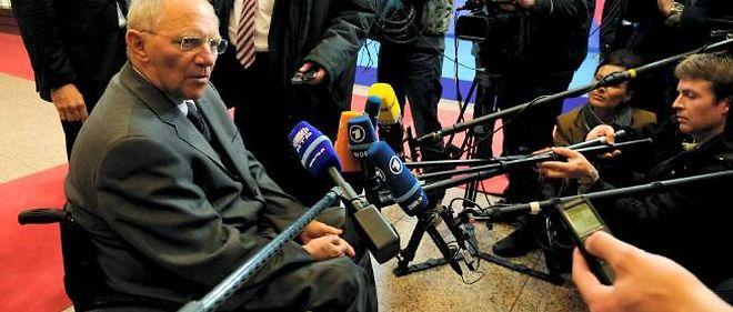 Le ministre allemand des Finances doit ménager une opinion  publique qui craint la politique non conventionnelle de la BCE.