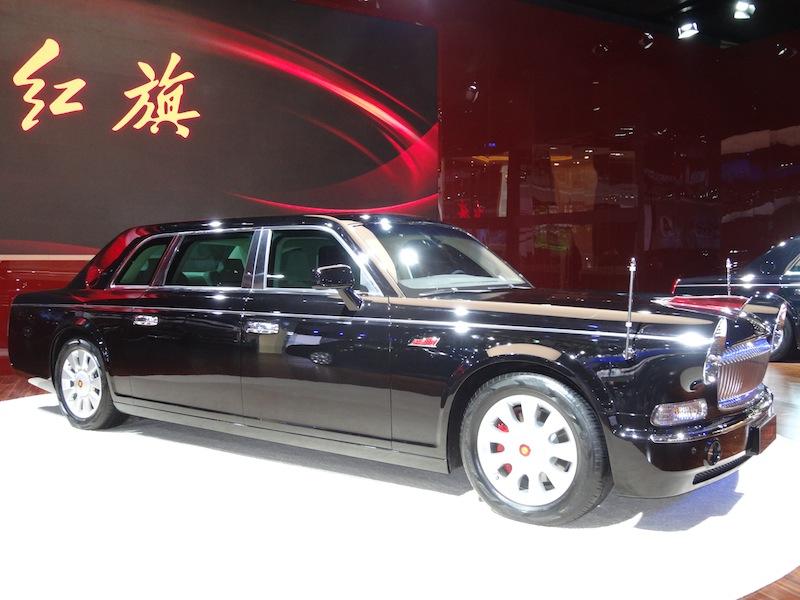 La Hongqi L9, laRolls Royce chinoise, vaudrait 800 000 $ mais elle n'est vendue qu'à des dignitaires sélectionnés