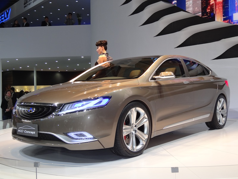 La Geely KC Concept a été dessinée par un ex-Volvo et cela se voit