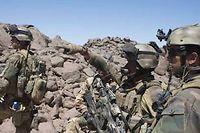 Des soldats français patrouillent dans le nord du Mali le 8 mars 2013. ©ARNAUD ROINE/ECPAD