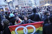 Manifestation pro-mariage gay en Lille. Photo d'illustration. ©Max ROSEREAU