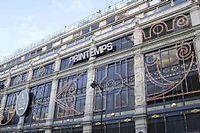 Vue du magasin-amiral du Printemps sur les grands boulevards parisiens. ©BELZ LAURA