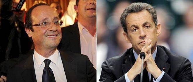 François Hollande devance toujours très largement Nicolas Sarkozy.