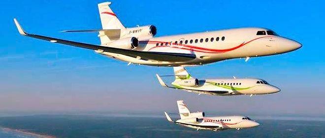 Les F7X, F2000 et F900, la gamme actuelle des Falcon.