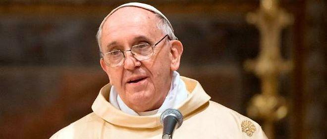 Le pape François. © OSSERVATORE ROMANO / AFP