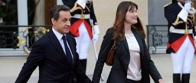 Nicolas Sarkozy et Carla Bruni.